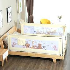 bed guard rail newborn baby safety bed guardrail crib rails baby fence guard adjule cartoon bed