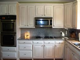 rustic white cabinets. Cool Kitchen Backsplash Ideas Black Granite Countertops White With Rustic Cabinets. Cabinets