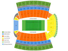 Clemson Memorial Stadium Sc Football Tickets For Sale Ebay