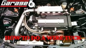 garage b how to do a wire tuck part 1 (harness removal, wire cutting Acura Integra Brakes DIY garage b how to do a wire tuck part 1 (harness removal, wire cutting, routing) youtube
