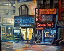 oil painting subway inn new york city nyc by thor wickstrom