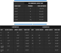 Reebok Jersey Size Chart Reebok Jersey Size Chart Nfl Www Bedowntowndaytona Com