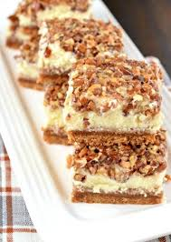 pecan pie cheesecake bars. Beautiful Pecan Superb Pecan Pie Cheesecake Bars And