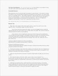 Writing An Objective For A Resume Lovely Simple Resume Sample Resume ...