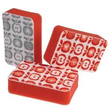 """<b>Набор губок</b> для мытья <b>посуды</b> """"Apple"""", 3 шт. бренда Rex London ..."""