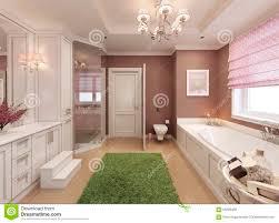 Badezimmer Art Decodesign Der Kinder Stockfoto Bild Von