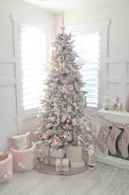 Light Pink And White Christmas Tree Top 10 Christmas Decoration Ideas Trends 2019 Pink