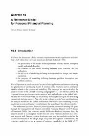a reference model for personal financial planning springer inside