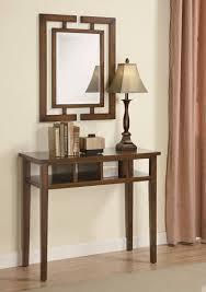 hall table and mirror. Mirror And Console Table Sets Coaster Contemporary Three Piece Tables Mirrored Lamp Set Simplicity Elegant Best Hall