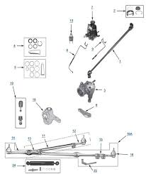 yj wrangler replacement steering 4 wheel parts