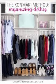 the konmari method of organizing clothes