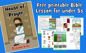 Jesus prays to be glorified. House Of Prayer Jesus Clear S The Temple Trueway Kids