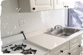 Smart Tiles Kitchen Backsplash Before After These Subway Smart Tiles Are Peel Stick And Will