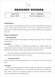 Easy Way To Write A Resume Best How To Make Resume Sample Unique
