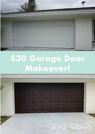 gel stain garage door makeover life on the gulfstream
