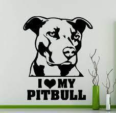 I love my Pitbull Art bULL dog ...