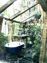 outdoor bathtub diy outdoor