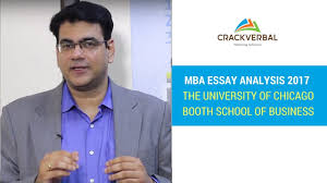 chicago booth mba essay questions analysis tips  chicago booth 2017 mba essay questions analysis tips