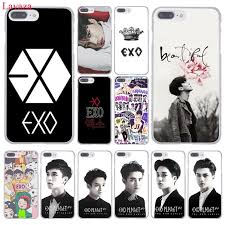 Lavaza Kpop exo Lucky one Hard Coque Shell Phone Case for Apple