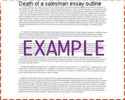 death of a sman essay outline custom paper help death of a sman essay outline essay prompts death of a sman university of illinois