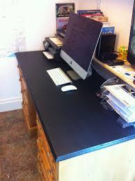 office desk cover. The Wandering Waltons Carbon Fibre Vinyl Wring Raymondo Style Office Desk Cover