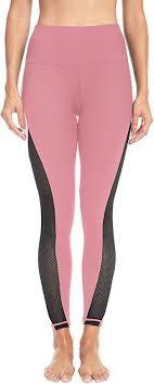 Queenie Ke <b>Women Yoga Pants</b> Color Blocking Mesh Workout ...