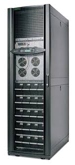 apc smart ups vt rack mounted 20kva 208v w 5 battery modules pdu image