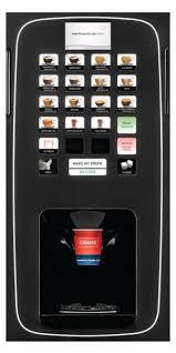 Hot Drink Vending Machine Fascinating CRANEICON Bean To Cup Hot Drink Vending Machine Beverage Group