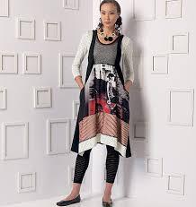 Marcy Tilton Patterns Enchanting Vogue Patterns 48 Misses' Top Dress And Leggings