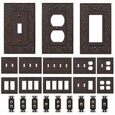 metal switch plates. Beautiful Metal Image Is Loading OilRubbedBronzeWallSwitchPlateOutletCovers Intended Metal Switch Plates W