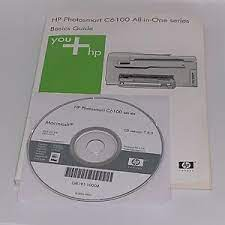 Hp photosmart c6100 driver downloadit the solution software includes everything you need to install your hp printer.this installer is optimized for32 & 64bit windows, mac os and linux. Cd Installation Hp Photosmart C6100 Series Macintosh Os 10 3 9 10 4 Guide Ebay
