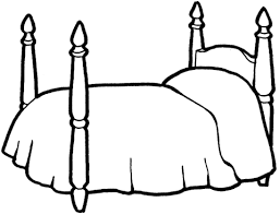 Small Picture Bed For A Girl coloring page Free Printable Coloring Pages