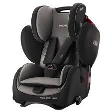recaro young sport hero child baby toddler group 1 2 3 car seat carbon black