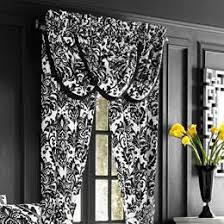 Perfect Black And White Curtains J Queen New York Cambridge For Decorating Ideas