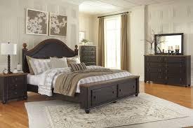 Image Of Ashley Furniture Silverglade Mansion Bedroom Set ...