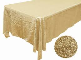 luxury collection ss sequin tablecloth 90 x 132