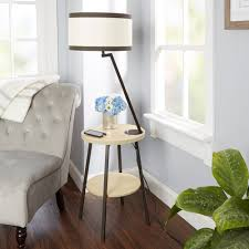 superior floor lamp with usb port aiden side table usb free throughout remarkable side table