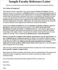 faculty letter of recommendation 100 original papers job reference letter professor