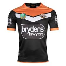 wests tigers nrl 2018 home s s rugby shirt wests tigers rugby jersey size