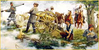 Image result for longstreet's artillery at gettysburg