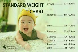11 Months Old Baby Weight Chart My Baby Girls Weight Is 7kg She Is 11 Month Old What Is