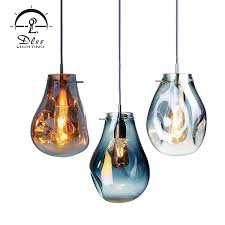 china led fancy pendant lamp glass