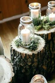 Mason Jar Table Decorations Wedding Woodland Table Decorations Rustic Burlap Table Number Rustic 76