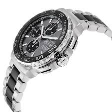 tag heuer mens formula 1 anthracite automatic chrono swiss watch tag heuer