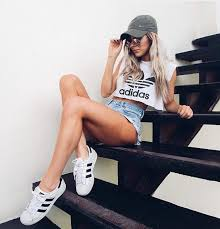adidas girls. girl, street wear, ootd, adidas, outfit adidas girls s
