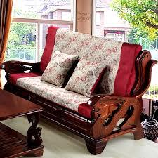 get ations zedai jiani korean version of the luxury plus rope edge mahogany wood sofa cushion sofa cushion