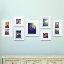 wall photo frame set gallery solutions 7 piece picture frame set photo wall frame set australia