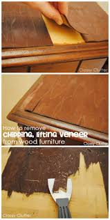 diy furniture refinishing projects. how to remove veneer from wood furniture the easy way repairpaint furniturefurniture refinishingfurniture makeoverfurniture projectsdiy diy refinishing projects w