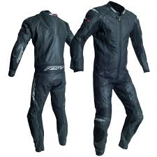 one piece leather suit black close sku