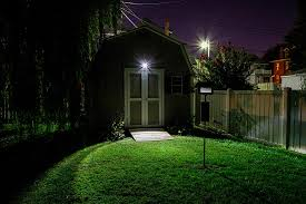 exterior floodlights motion sensor bright bridgelux cob led amazing motion sensor light outdoor